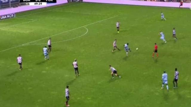 Foi assim que Aboubakar inaugurou o marcador no Boavista-FC Porto