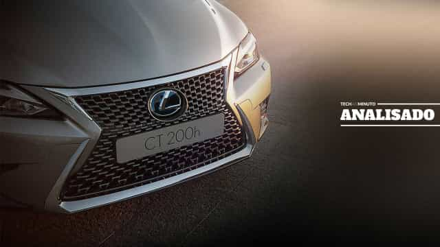Lexus CT 200h: Um compacto de luxo para os apaixonados por híbridos