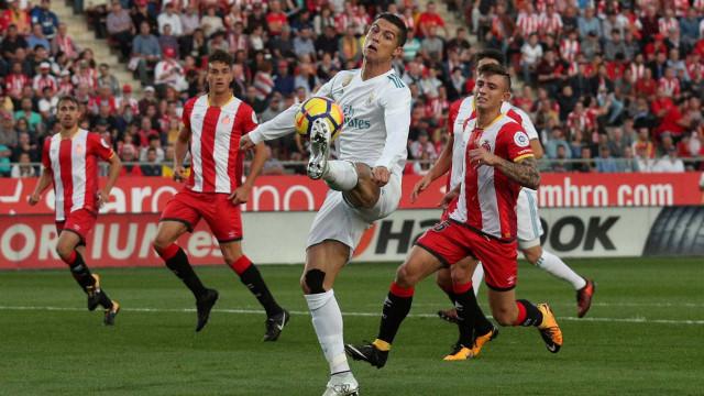 Real Madrid 'tropeça' em casa do Girona antes do jogo com o Tottenham