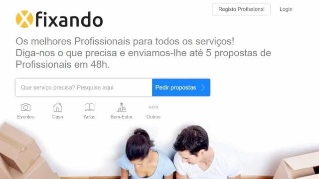 Startup Fixando cria plataforma para multi-serviços