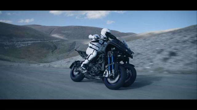 É assim que a Yamaha imagina a mota do futuro