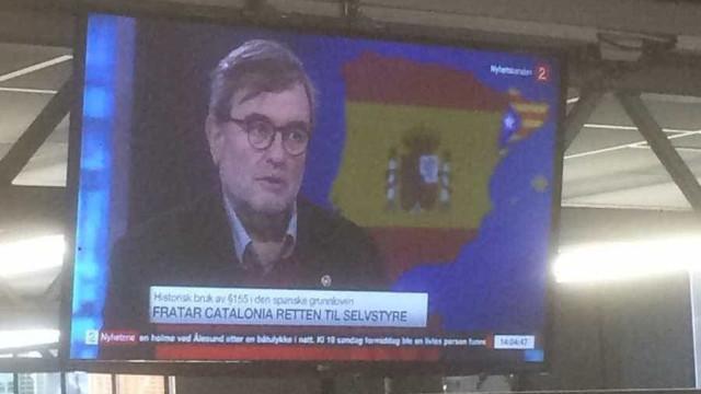 """TV norueguesa esquece-se de Portugal e mostra país """"invadido"""" por Espanha"""