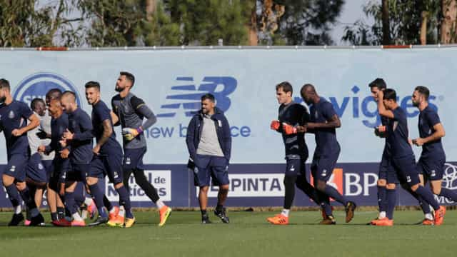 Três baixas no FC Porto e reforços falham jogo com o Estoril