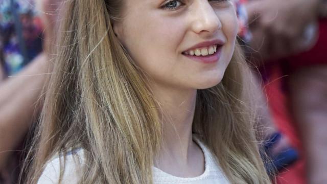 Princesa Leonor de Espanha festeja o 12º aniversário
