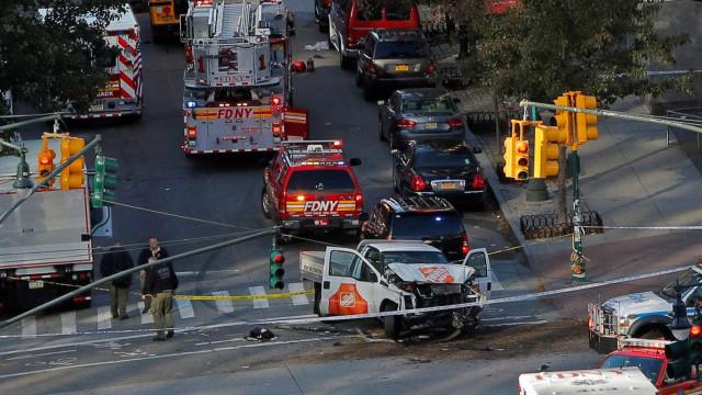 Atropelamento em Manhattan fez pelo menos oito mortos. Um suspeito detido