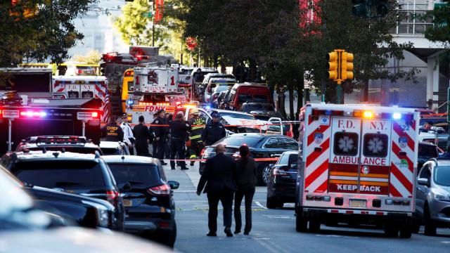 Após atropelamento, é este o cenário em Manhattan