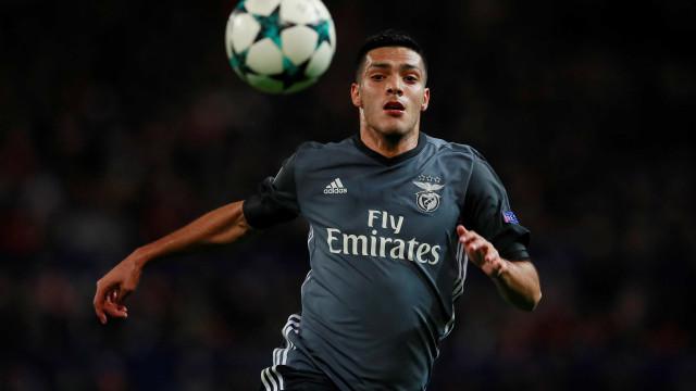 """Jiménez: """"Estava a precisar de um novo desafio, estava morto no Benfica"""""""