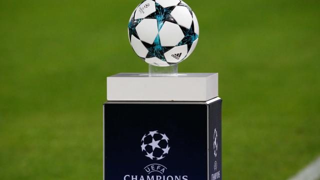 A calculadora para as equipas portuguesas na Liga dos Campeões
