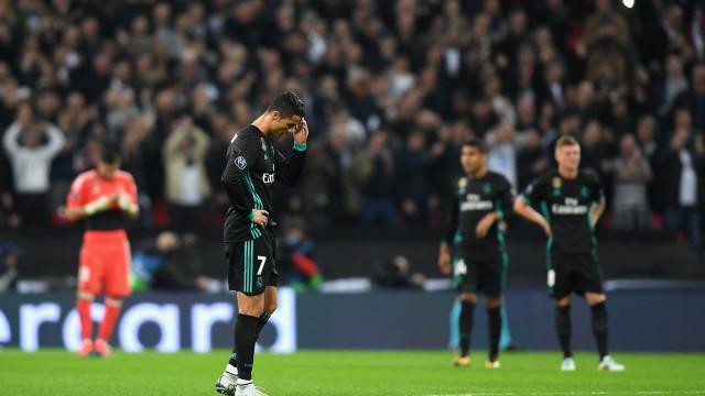 Nem Ronaldo evitou 'Real' desgraça em território britânico
