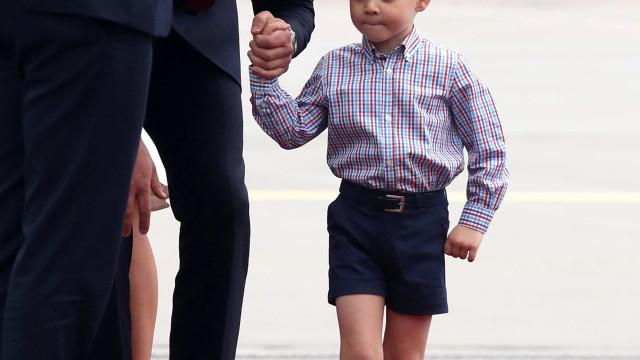 A importante lição que William ensinará ao pequeno George