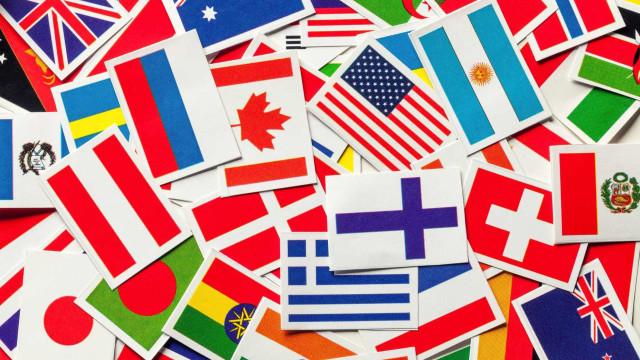 Os países com a média de QI mais elevada