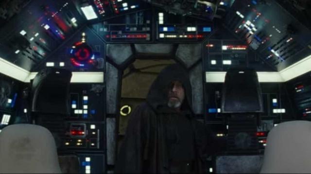 Regresso de Luke Skywalker à Millennium Falcon gera loucura entre os fãs