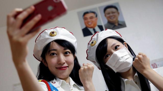 Em Tóquio há um clube de fãs da Coreia do Norte