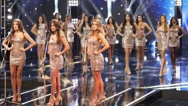 Candidatas a Miss Peru impõem-se contra violência sobre mulheres