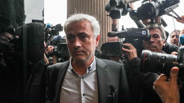 José Mourinho já chegou a tribunal