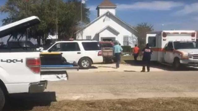 Tiroteio em igreja no Texas. Há pelo menos 10 mortos