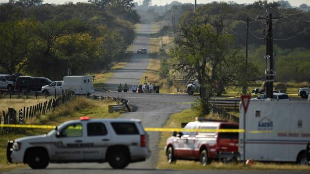 O massacre do Texas contado em imagens
