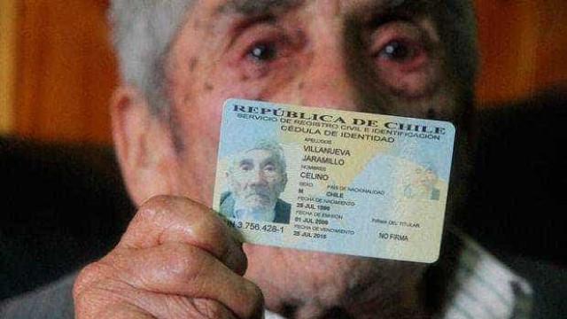 Nasceu em 1896 e é provavelmente o homem mais velho do mundo