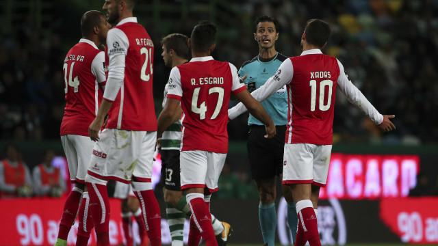 Sp. Braga exige áudio do VAR em dois lances do jogo com o Sporting