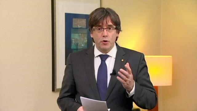 """Puigdemont disse ter sido """"a melhor semana"""" após triunfo do Barcelona"""