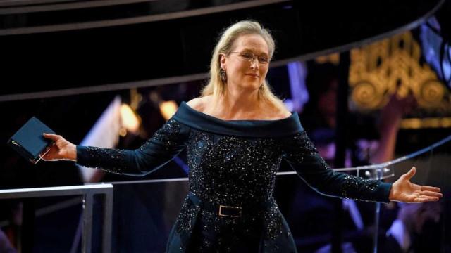 """Meryl Streep recorda filmagens em que Hoffman lhe bateu: """"Foi exagerado"""""""
