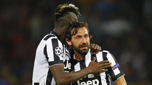 A arrepiante despedida da Juventus para Andrea Pirlo