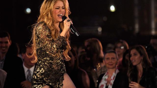 Concerto de Shakira em Portugal cancelado