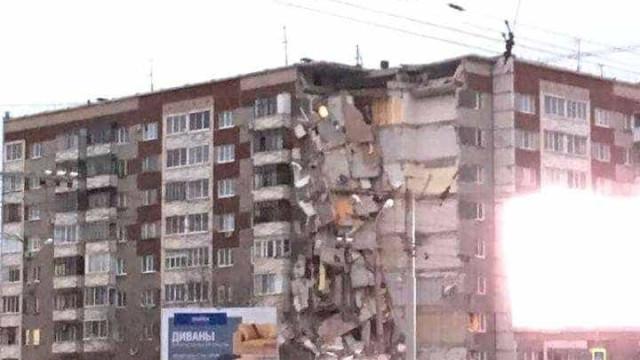 Rússia: Torre de apartamentos colapsa depois de explosão de gás