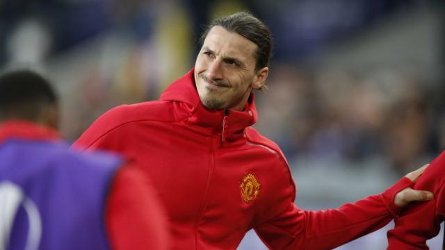 Oficial: Ibrahimovic deixa Manchester United