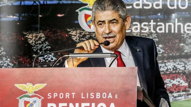 """Antes do final deste mandato sonho pagar a dívida do Benfica"""