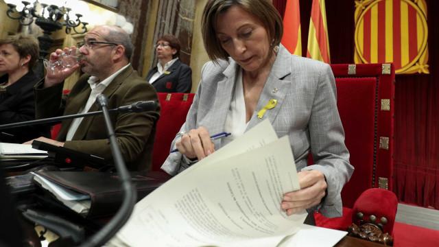 Tribunal decide libertar Carme Forcadell mediante caução de 150 mil euros
