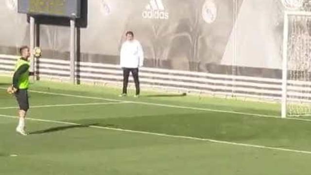 Voltar aos golos? Ronaldo até já treina... o ombro