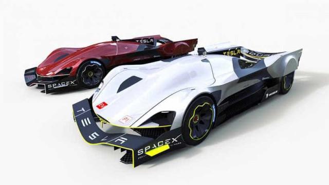 E se a Tesla participasse num 24 horas Le Mans? Eis como seria o carro