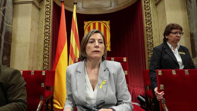 Caução paga. Líder de parlamento catalão pode sair em liberdade