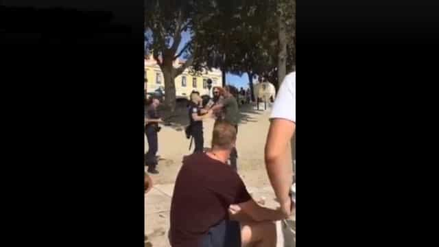 Vídeo viral nas redes sociais mostra agressão a agente da PSP