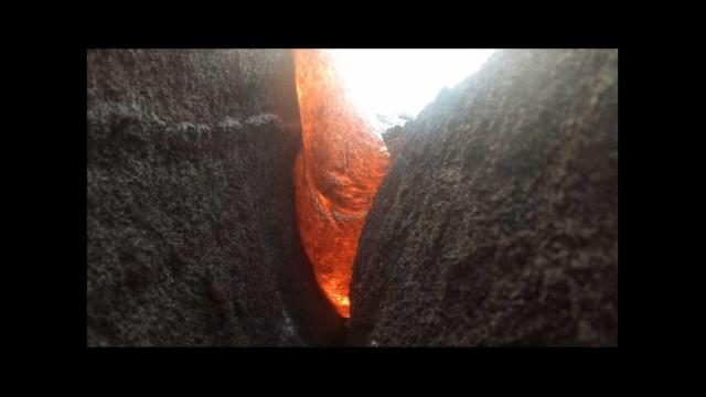 GoPro foi 'engolida' por lava… e sobreviveu