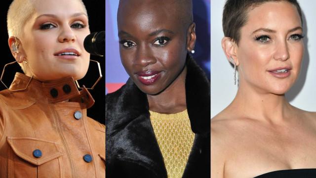 Celebridades: Quando elas rapam o cabelo
