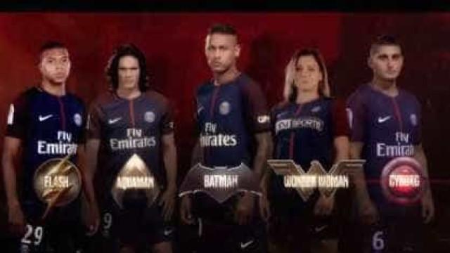 Já conhece a Liga da Justiça formada pelos jogadores do PSG?