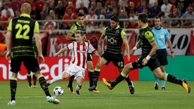 Olympiacos vence Levadiakos nas vésperas de visitar o Sporting