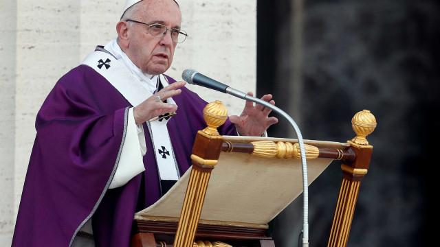 Papa pediu um favor aos fiéis durante a missa