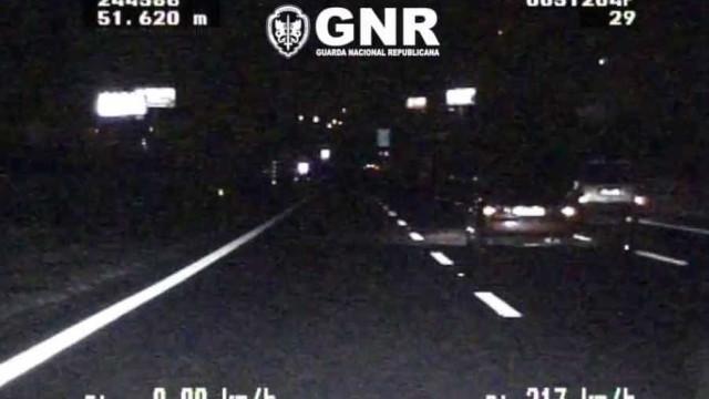 Corridas ilegais na A2. GNR apanha condutores a mais de 200 km/h