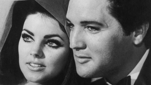 Estão a ser leiloados os papéis do divórcio de Elvis Presley e Priscilla