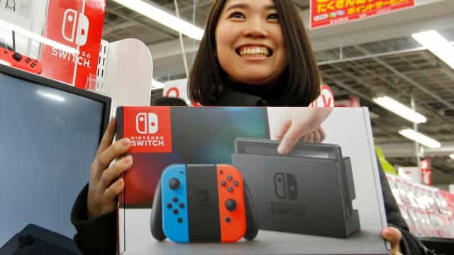 Nintendo teve um ano de 'sonho' com a Switch. Lucro aumentou mais de 500%