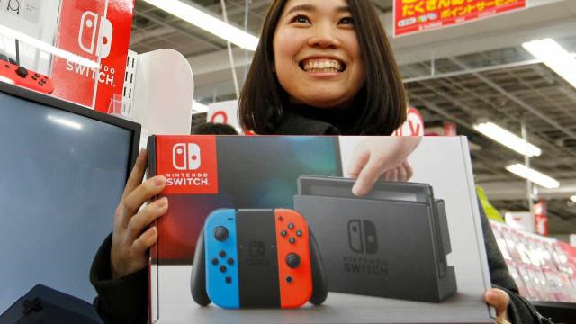 Nintendo duplica produção da Switch… e pode não ficar por aqui