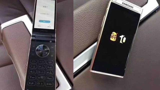 Novo telemóvel 'concha' da Samsung surge em novas imagens