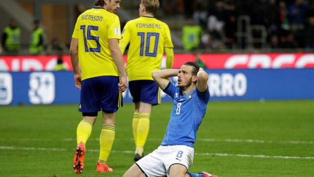 Itália está fora do Mundial, 60 anos depois