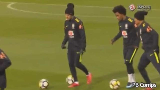 Neymar ou Gabriel Jesus, quem deu a melhor 'cueca'?