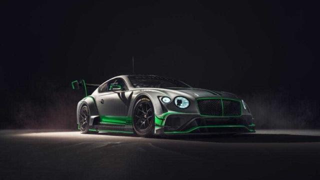 Novo Bentley GT3 está aí e vem com 'upgrade' de V8 biturbo de 4 litros