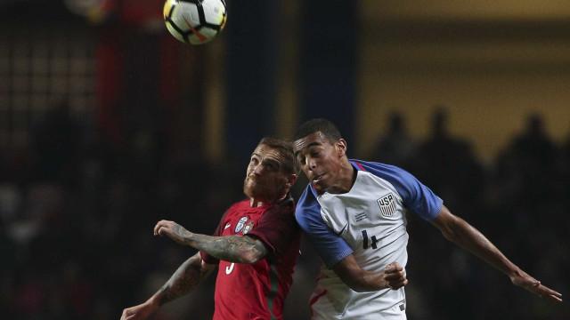 Exibição pobre de Portugal culmina em empate frente aos EUA
