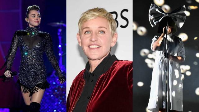 Miley, Ellen e Sia reagem à aprovação do casamento gay na Austrália